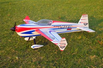 "Skywing 89"" Laser 260 - A in White, red and blue"